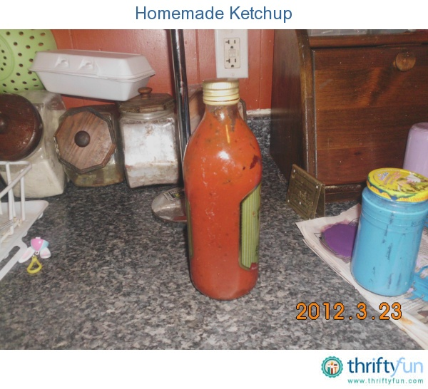 Homemade Ketchup | Favorite Recipes | Pinterest