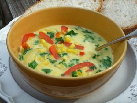 Thai Coconut Corn Soup | Soups, Salads, and Sammies | Pinterest