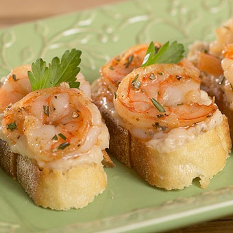 shrimp and white bean crostini | Play with your food: Finger Foods ...