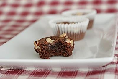 Cookbook of the Month Recipe - Nutella Fudge Brownies