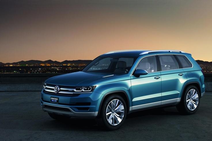Volkswagen CrossBlue Concept (źródło: Pinterest)