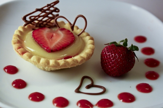 Strawberry Lemon Curd Tart | SWEETS! | Pinterest