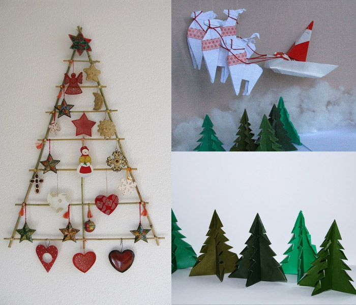 Wall Decor Christmas Tree : Wall christmas tree holidays