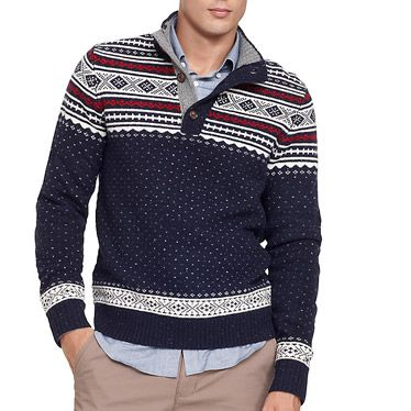 Fair Isle Sweaters - Best Fall Sweaters for Men - Esquire