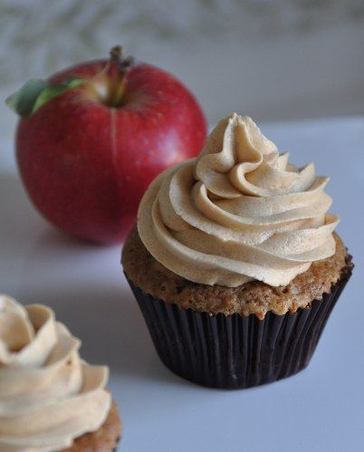 Apple Spice Cupcakes...perfect for fall!   cake, cupcakes, cakepops ...