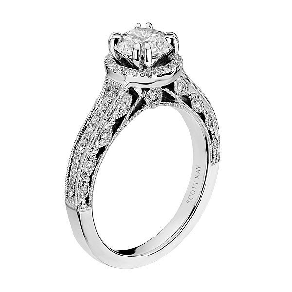 Scott Kay Engagement Rings: Pin By Genesis Diamonds On Scott Kay Diamond Engagement