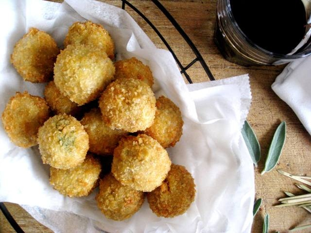 Ricotta and Sage Meatballs   Beverages and Appetizers   Pinterest