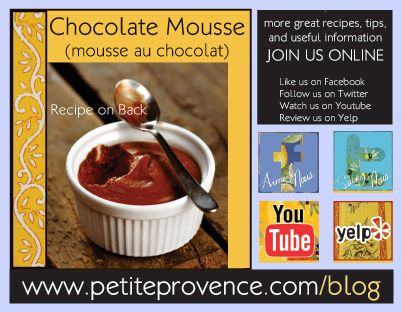 Classic French Chocolate Mousse | Sweets | Pinterest