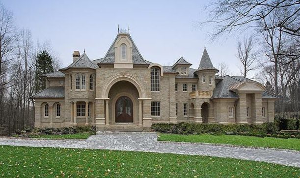 chateauesque style home ch 6 housing styles pinterest