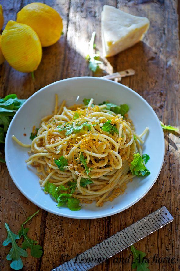 Pasta With Meyer Lemon Zest, Ricotta, Arugula, And ...