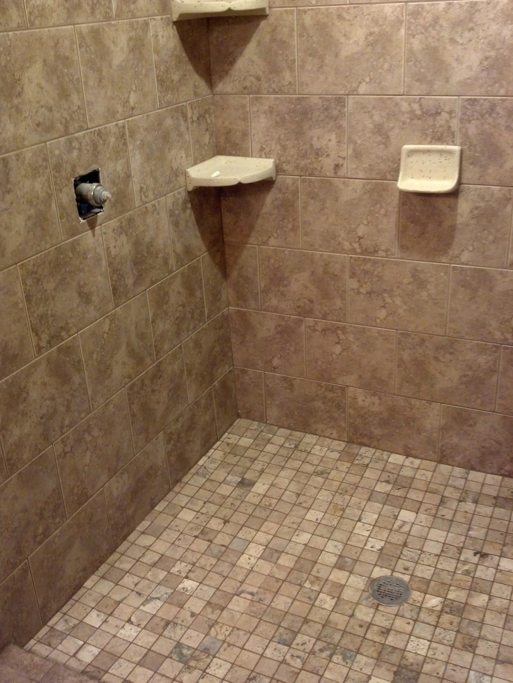 Bathroom Shower Tile Diy Pinterest