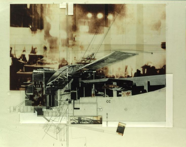 Morphosis Architectural Drawings Collages Pinterest