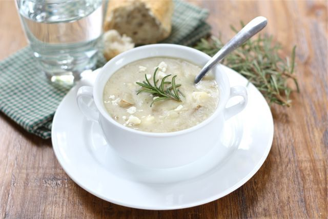 Potato Rosemary Soup - Soup Recipes | Food & Drink | Pinterest