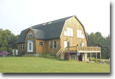 Gambrel roof barn house flickr barns living quarters for Gambrel barn plans with living quarters