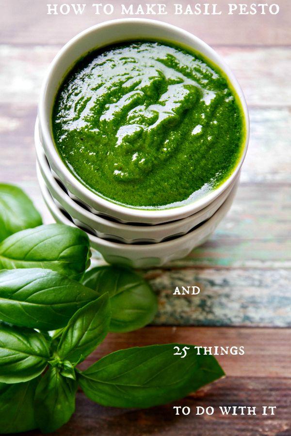 Basil pesto | Recipe