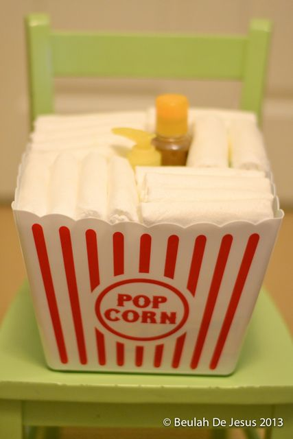 ready to pop popcorn baby shower party ideas