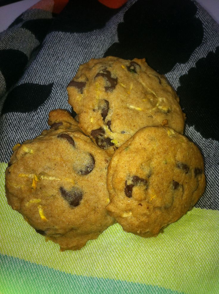 Chocolate Chip and Zucchini Cookies | Smoothies/ healthy/ice cream ...