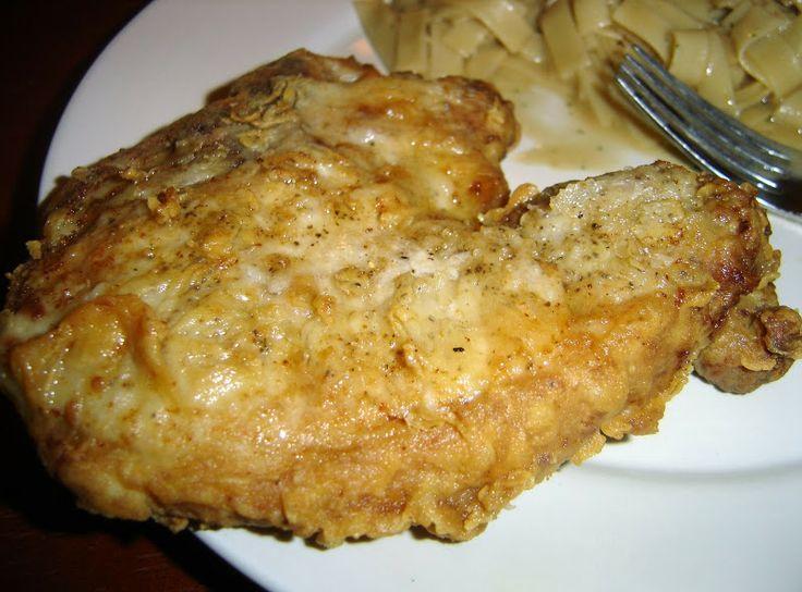 Fried Pork Chops, simple fast an yummy!! my husband love it!