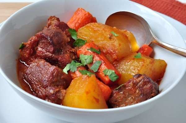 Five Spice Pork Stew - deep, rich flavors and so easy!