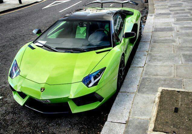 Lime Green Lamborghini - Bing images
