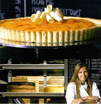 Recipe: Creamsicle Tart (with creme fraiche ganache) - Recipelink.com