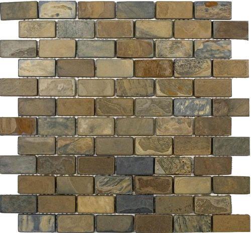 epoch tile california rustic tumbled slate mosaic floor or wall tile 1