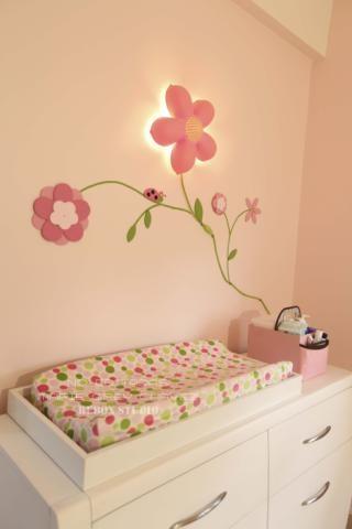 Pin by veronica alvarez on habitaci n y decoraci n beb s - Ideas para decorar habitacion bebe nina ...