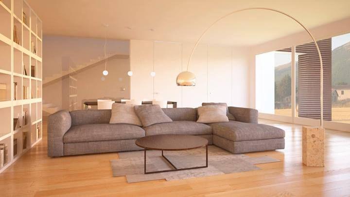 Soggiorno moderno  Home and around  Pinterest