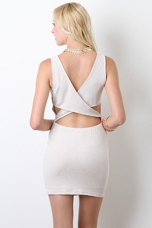 Starlight Sprinkles Backout Dress