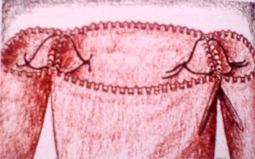Вязание круга снизу спицами