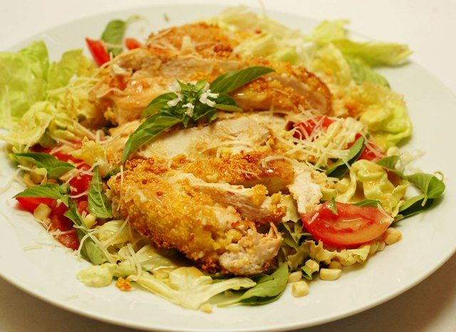 Polenta and Parmesan Chicken | Main Dishes/Sandwiches/Sides | Pintere ...