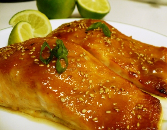 Miso-Ginger Glazed Salmon | Favorite Recipes | Pinterest