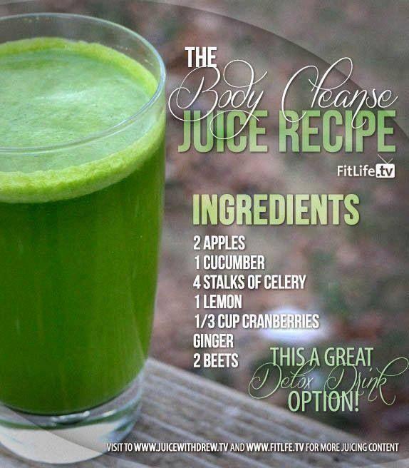 Detox juice | Food - Drinks | Pinterest