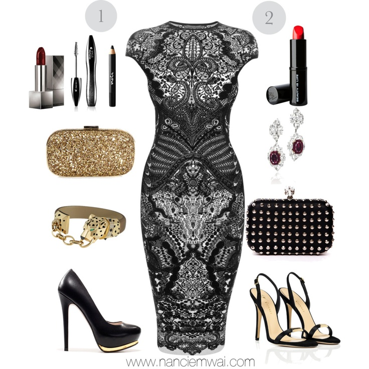 what to wear to a black tie event clothing