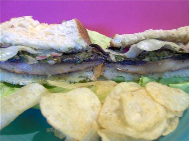 Nigella Lawson Portobello Mushroom Cheesesteak Sandwich. Photo by ...