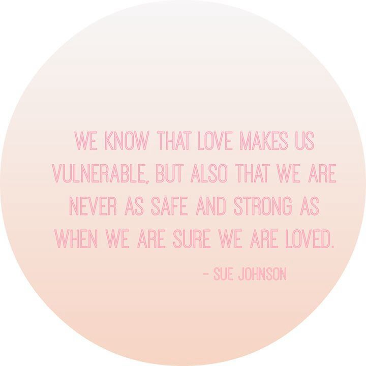 We know that love makes us vulnerable