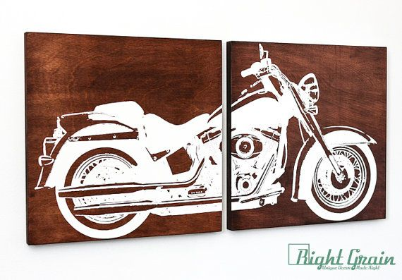 harley davidson wall art | winda 7 furniture