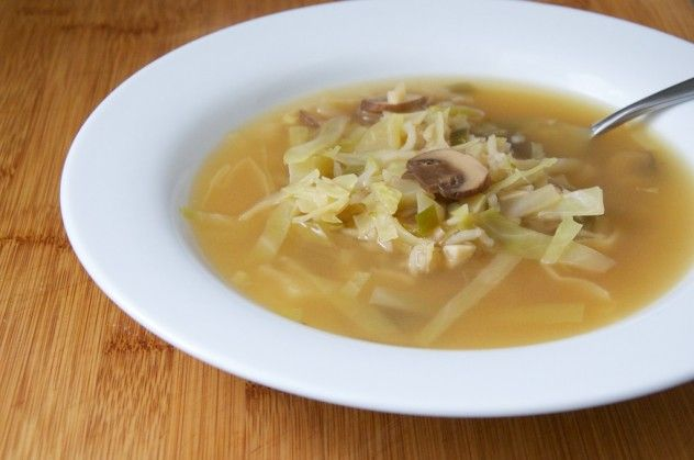 Hot And Sour Mushroom, Cabbage, And Rice Soup Recipes — Dishmaps