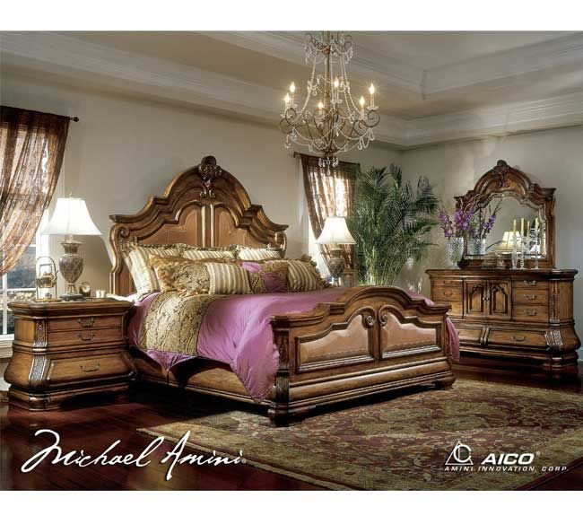 michael amini tuscano bedroom collection furniture