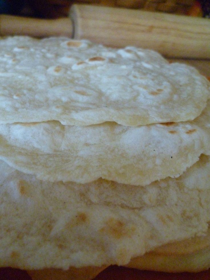 Homemade flour tortillas   Food / Drink   Pinterest