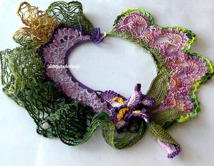 Crochet Iris Flower Pattern : Pin by Irsi Sri on Haken / Crochet Pinterest
