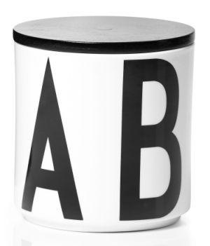 Arne Jacobsen Typography Storage Jar