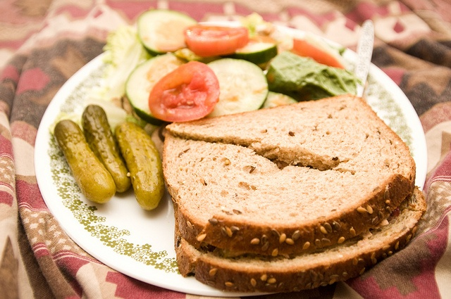 tuna sandwich with salad & pickles | Healthy Budget Friendly Meals an ...