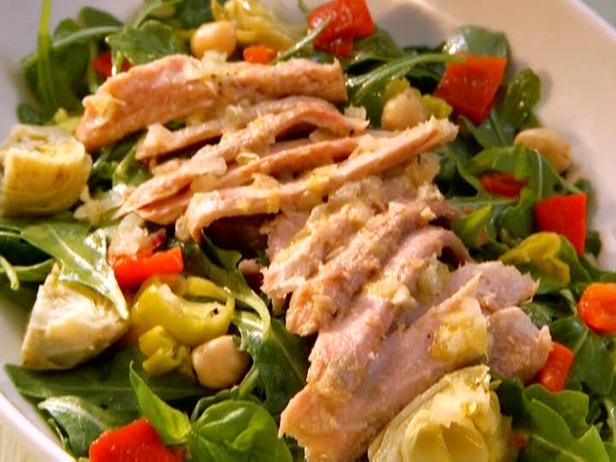 ... pea broad bean and artichoke salad oil poached artichoke heart salad