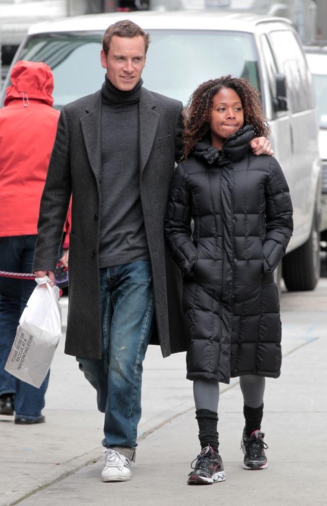 Fassbender's New Girl? (UPDATED) Michael Fassbender Girlfriend