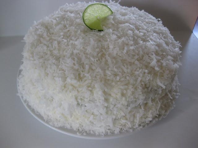 Coconut Lime Cake | Cakes | Pinterest