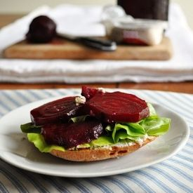 Roasted Beet Sandwich | What to do with our Alaskan bounty | Pinterest