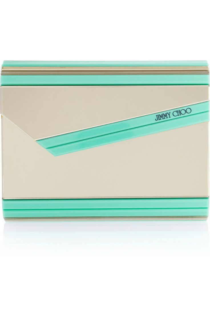 Jimmy Choo | The Candy acrylic clutch | NET-A-PORTER.COM