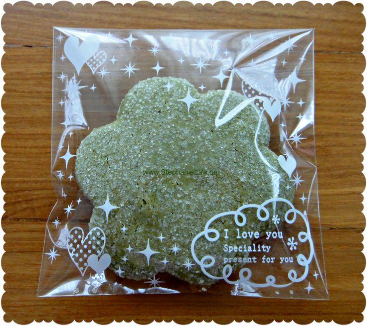 Matcha Green Tea Shortbread Cookies   Sweet Stuff   Pinterest