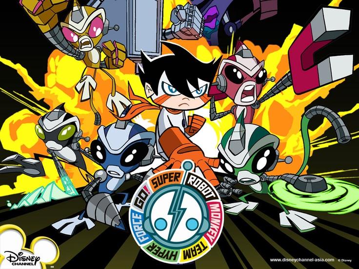 Super Robot Monkey Team Hyperforce Go Nerd Herd Pinterest
